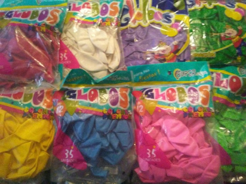 globos precio por 3 paquete.