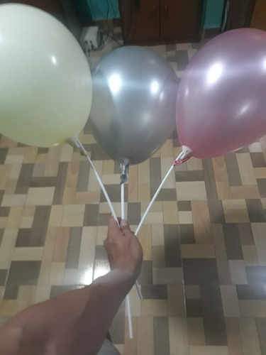 globos  r12 50 unidades satinados