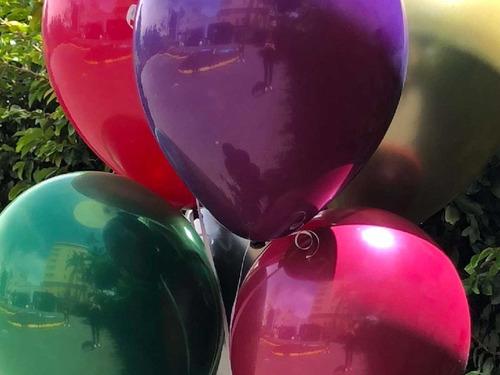 globos r12 marca sempertex  efecto espejo x25 unidades