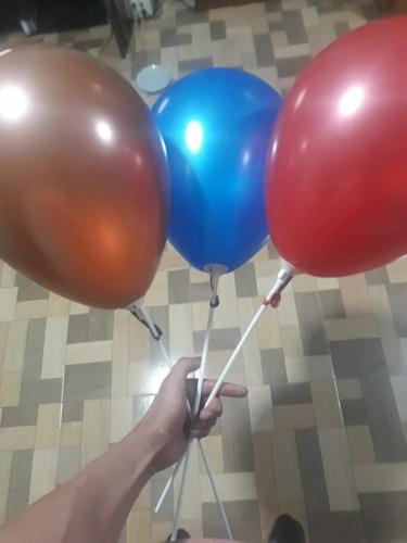 globos  r9  50 unidades metalizados