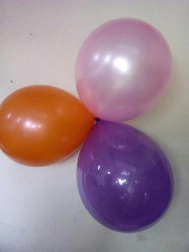 globos satinados y matte r12 (paquete de 50)