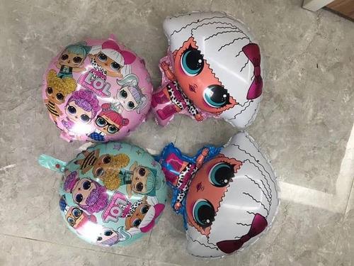 globos sonic pocoyo minnions  metalizados 18 pulgadas x 5