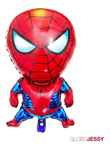 globos spiderman  pack de 5 pzas