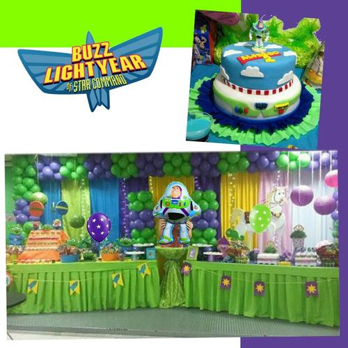 globos surtidos para decorar fiestas buzz light year disney