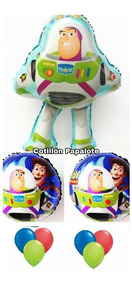 Globos Toy Story Pack X15 Buzzligthyear Woody Deco Cumple