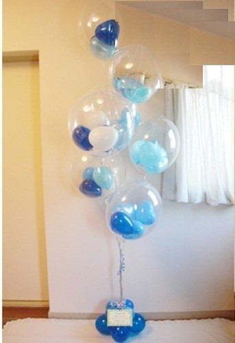 globos transparentes r12 balloons ballons 30cm