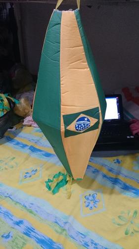 globos  y banderines decorativos mundial brasil 2014