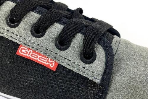 glock california gris negro skate hombre nuevo !