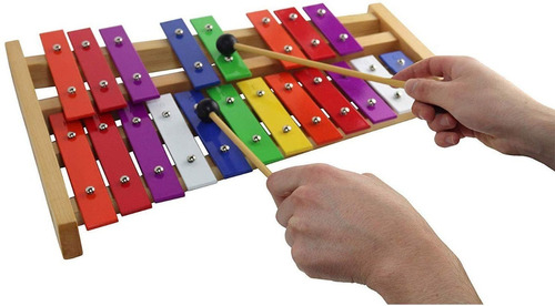 glockenspiel 25 note g-g xilófono cromático afinado - p...