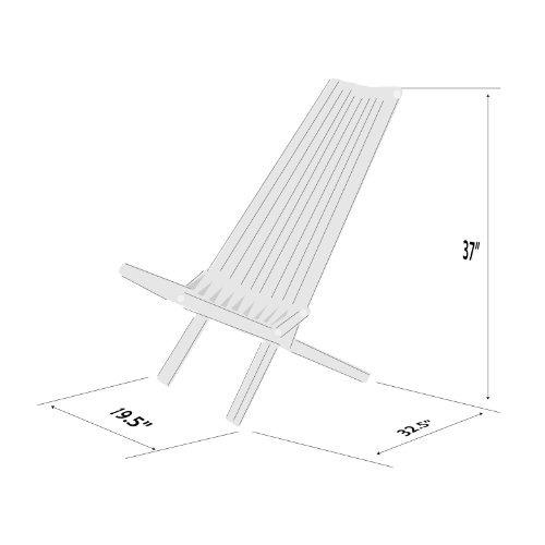 glodea x45 no knots selection lounge chair wild black