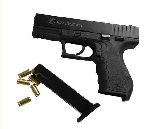 glok pistola fogueo dos proveedores 50 salvas envió gratis