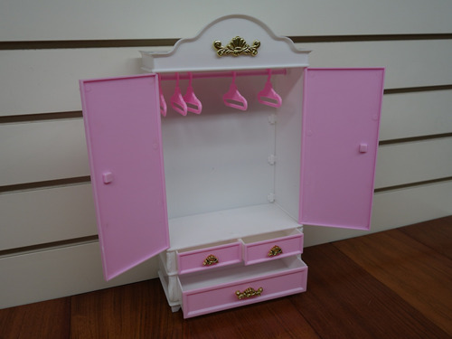 gloria armario & espejo para muñecas barbie