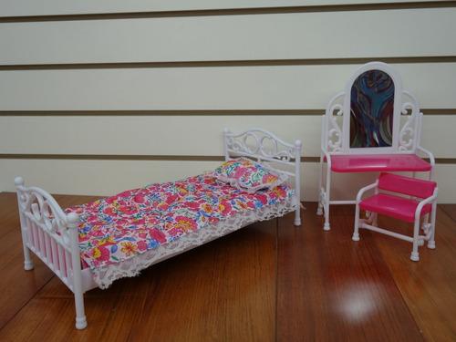gloria beauty bedroom play set , 11.5 barbie