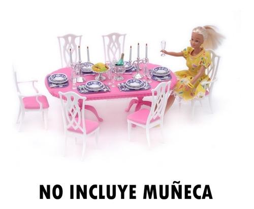 gloria el comedor lionels muebles para muñeca mundo manias