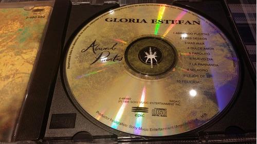 gloria estefan - abriendo puertas - cd impecable