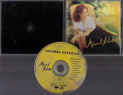 gloria estefan abriendo puertas cd original