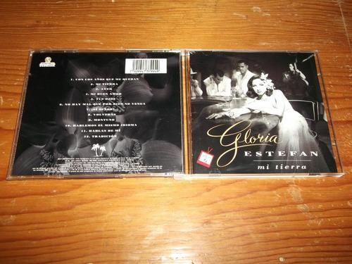 gloria estefan - mi tierra cd nacional edicion 1993 mdisk