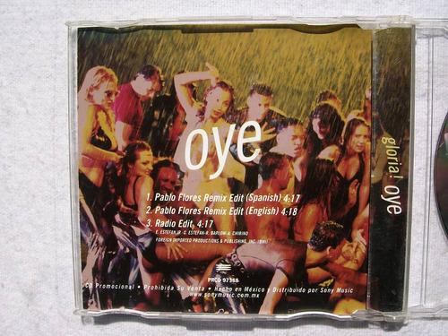 gloria estefan. oye. cd promo sony 1998