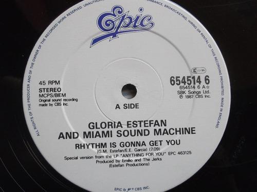 gloria estefan- rhythm is gonna get you -importado