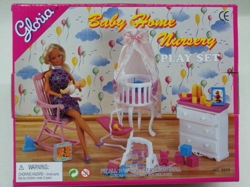 gloria muebles de la casa muñecas del tamaño