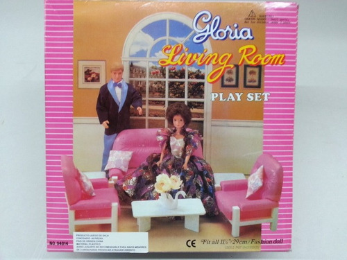 gloria muebles living room para dolls & dollhouse