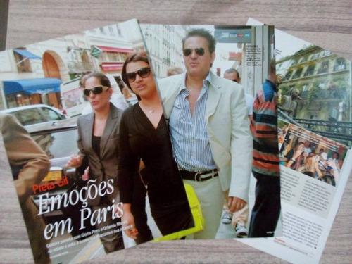glória pires - kit:003 páginas de revistas variadas
