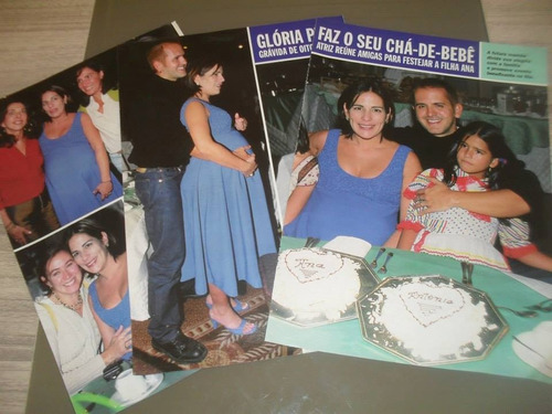 glória pires - kit:008 páginas de revistas variadas
