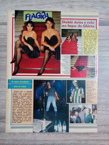 glória pires - páginas de revistas de épocas variadas