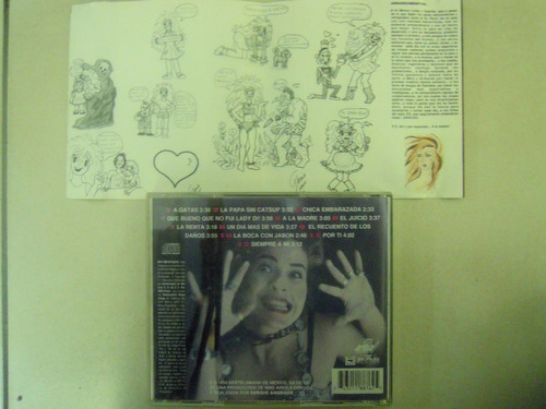 gloria trevi cd mas turbada que nunca 1994
