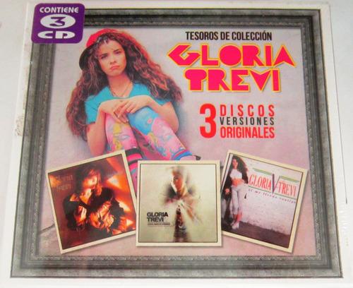 gloria trevi - tesoros de coleccion nuevo cerrado 3 cds