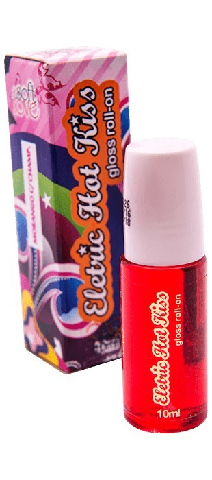 7ce85955e Gloss Elétrico Roll-on Vibra Hot Kiss 10ml - R  23
