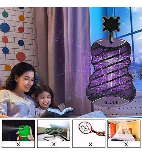 gloue bug zapper zapper de mosquitos electronico con luz ult