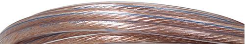 gls premium audio calibre 16 100 pies de cable del altavoz -