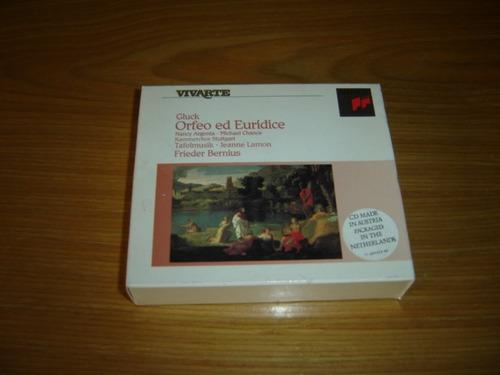 gluck orfeo et euridice cd boxset vivarte