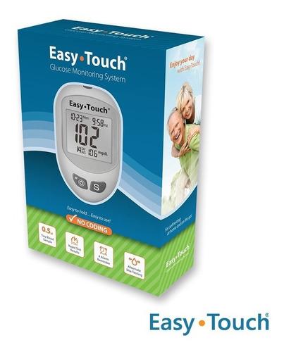 glucómetro  digital easy touch - easy touch