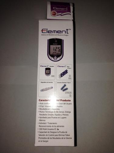 glucometro glucosure plus monitor con 25cintas kit completo
