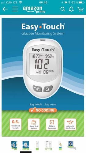 glucómetro, medidor de glucosa