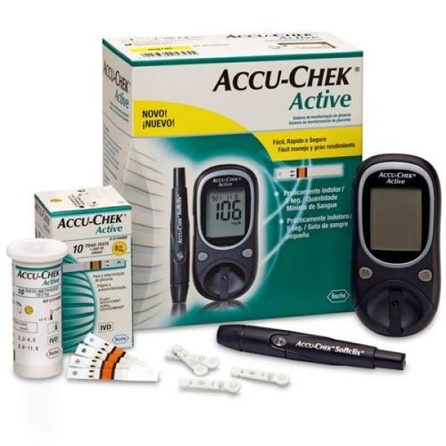 glucometro - medidor de glucosa accu-chek® active
