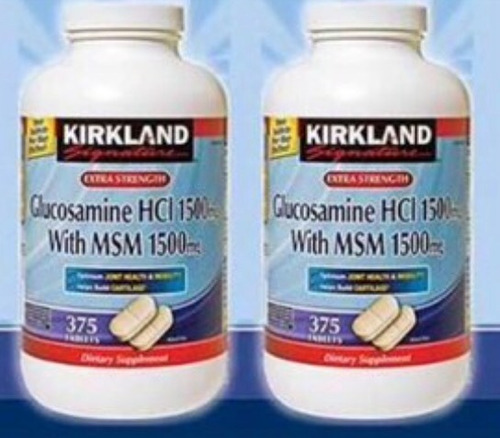 glucosamina americana hci 1500 mg with msm 1500mg