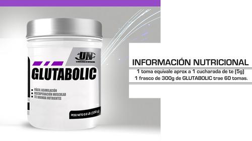 glutabolic glutamina, anticatabolico inmunoprotector