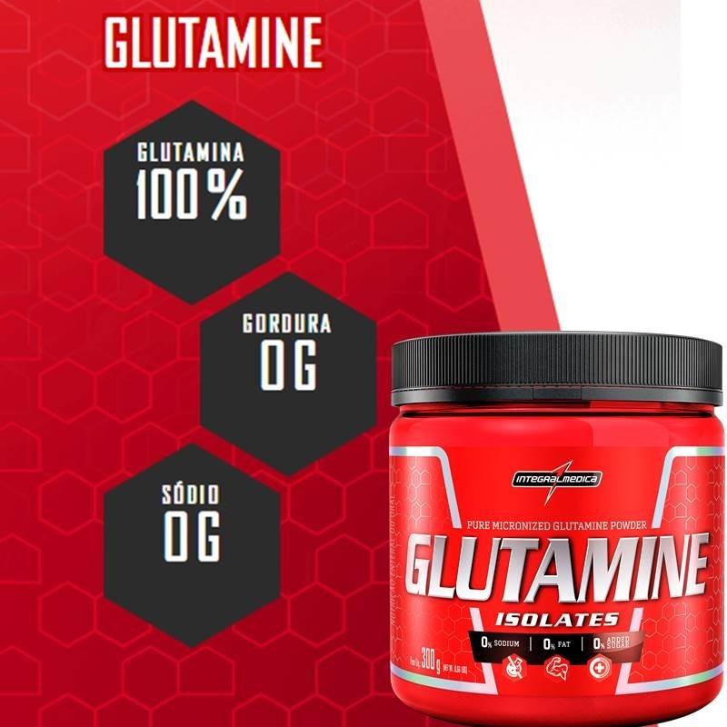 Glutamina 150g 100% Pura Construção Muscular Integralmedica - R ...
