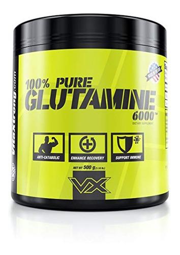 glutamina 500 grs vx (+84 servicios) + envio gratis oferta!