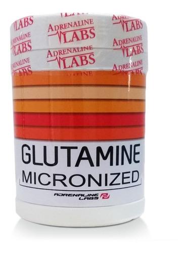 glutamina  de adrenaline labs 300 gr en activationperu