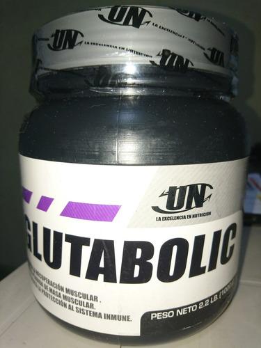glutamina glutabolic 1kg.anticatabólico para proteína 200ser