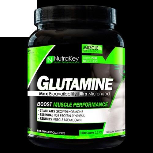 glutamina glutamine nutrakey 1 kg