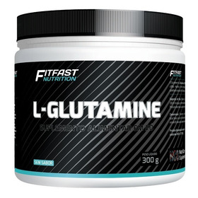 Glutamina L-glutamine Fit Fast Nutrition 300g