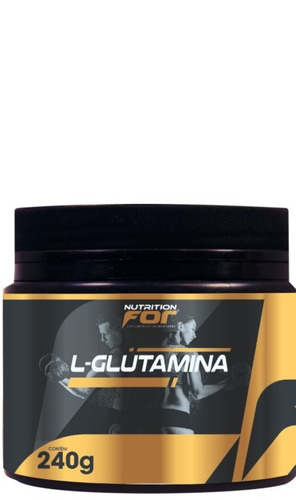 glutamina pó 240g kit 2 potes pura original premiun fitoplan