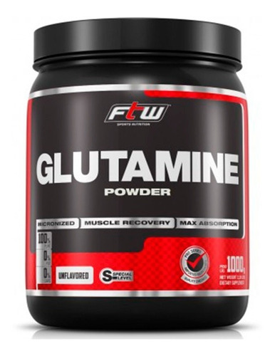 glutamina powder ftw - fitoway - 1kg