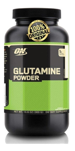 glutamina powder optimum 300g - original - importada!