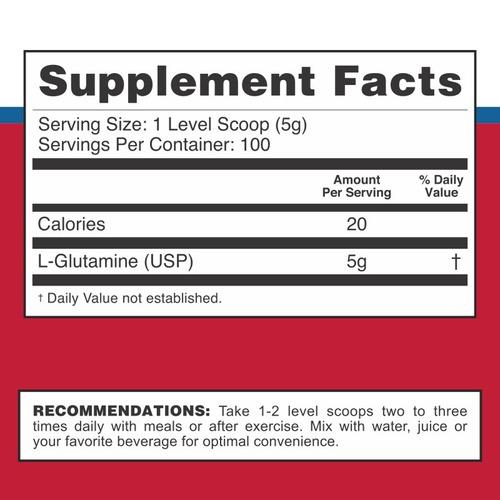 glutamina powder ultra pura super glu x 500 grs by syntrax en 6 cuotas!! envio sin cargo a todo el pais!!